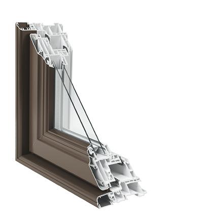 Détail multichambre de la fenêtre hybridge