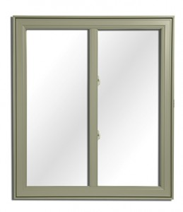 Exemple de fenêtre hybride kaki