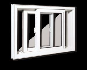 Fenêtres coulissantes en PVC